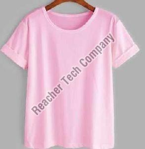 Women Plain T-Shirt