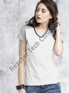 Women V Neck T-Shirt