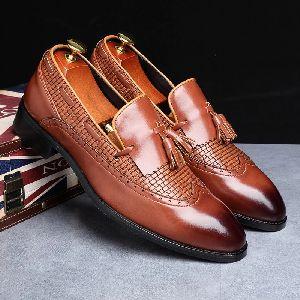 Designer Leather Loafer Shoes