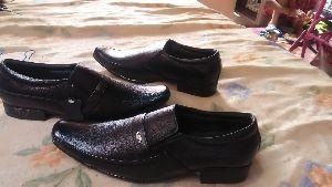 Fancy Black Leather Shoes