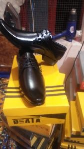 Party Wear Black Leather Shoes