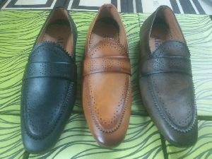 Synthetic Leather Moccasins Shoes