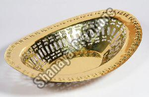 Brass Bread Basket