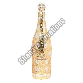 Brass Champagne Bottle Holder
