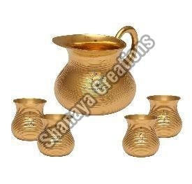 Brass Lemon Set