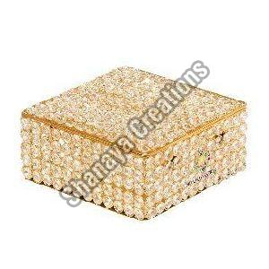 Crystal Brass Bangle Box