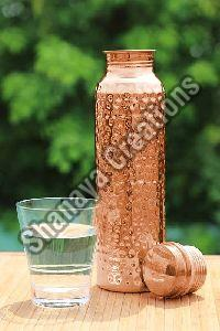 Hammered Copper Bottle