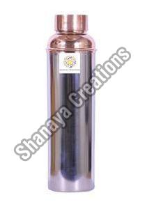 Steel Copper Water Bottle
