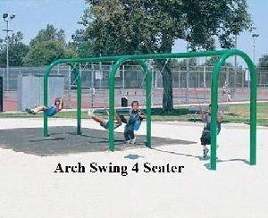 4 Seater Arc Swing