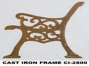 Cast Iron Bench Frame