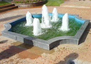 Foam with Bubble Jet Fountain