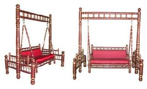 Two Seater Mild Steel Designer Swing