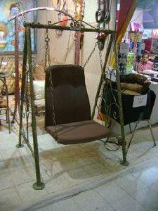 Single Seater Mild Steel Designer Swing