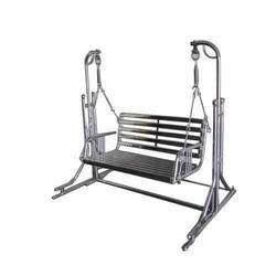 Two Seater Stainless Steel Swing
