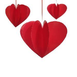4D Hanging Heart