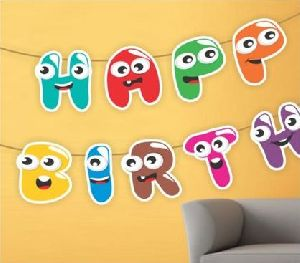 Alphabet Cartoon Banner