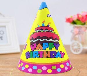 Birthday Rangoli Cap