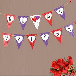 Bunting Valentine Day Banner