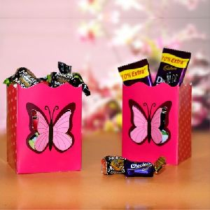 Butterfly Paper Container