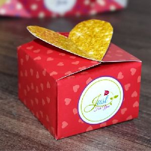 Heart Paper Container