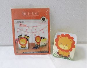 Lion Paper Container