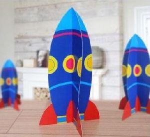Paper Kitkat Rocket