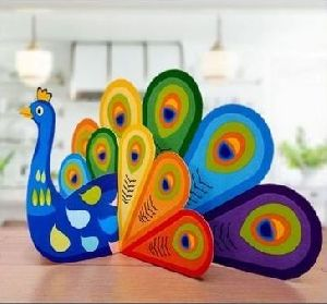 Decoration Paper Peacock