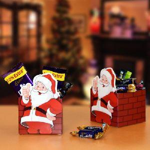 Santa Paper Container