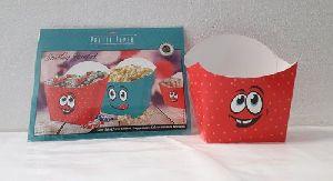 Smiley Paper Bucket