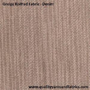 Denim Knitted Fabric