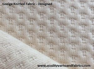 Designed Knitted Fabric