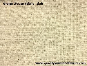 Slub Woven Fabric