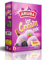Berries Flavored Ice Cream Mix