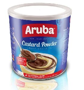 Chocolate and Banana Flavored Custard Powder