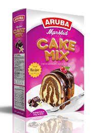 Marble Sponge Cake Mix