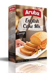 Orange English Cake Mix