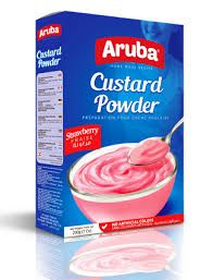Strawberry Flavored Custard Powder