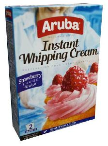 Strawberry Instant Whipping Cream