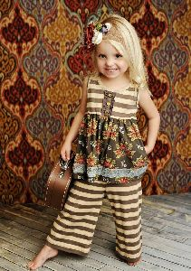 Girls Palazzo Dress