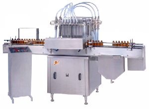 Pharma Syrup Filling Machine