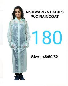 Aishwariya Ladies PVC Raincoat