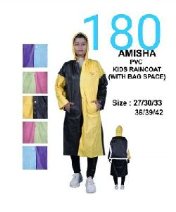 Amisha Girls PVC Raincoat