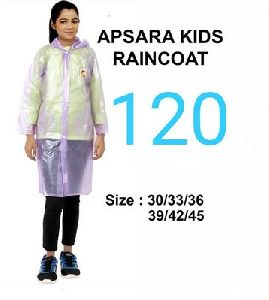 Apsara Girls PVC Raincoat