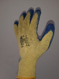 Blue & Yellow Gloves