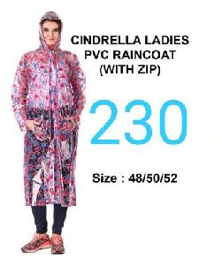Cindrella Ladies PVC Raincoat