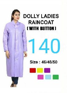 Dolly Ladies PVC Raincoat