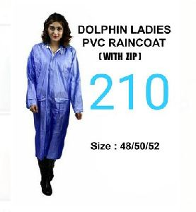 Dolphin Ladies PVC Raincoat