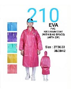 EVA Girls PVC Raincoat