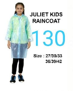 Juliet Girls PVC Raincoat