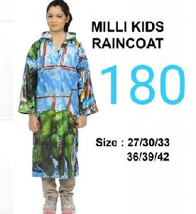 Milli Girls PVC Raincoat